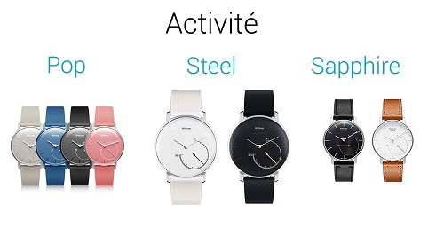 Withings Acitivité Schlaftracker steel